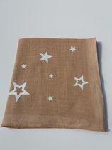 Noschi beige mit Leuchtsternen