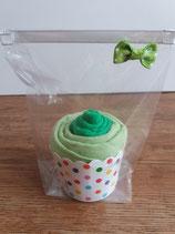 Cup Cakes mittelgrün/lindgrün