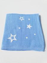 Noschi hellblau mit Leuchtsternen