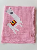 Noschi rosa mit Lama