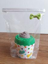 Cup Cakes grau/mittelgrün