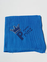 Noschi dunkelblau, kleiner Prinz mit Glitzerkrone