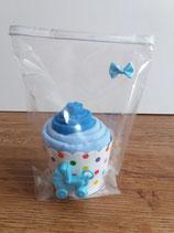 Cup Cakes blau/hellblau