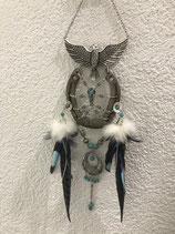 Neu Dreamcatcher Hufeisen hellblau
