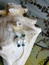 Perlen Ohrringe Bella Principessa