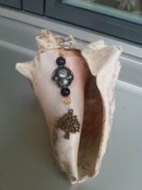 Schlüsselanhänger Baum des Lebens Bronze 3