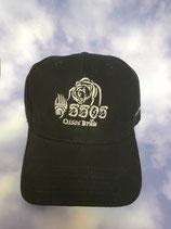 Ossos Bräu Cap - Schildmütze schwarz mit weißer Ossos-Logo Stickerei