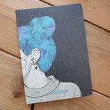 """Matabooks Notizbuch – Nari """"Blue Starry Sky"""" (punktiert)"""