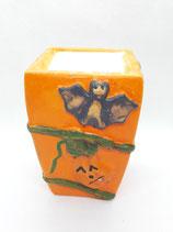 Halloweenkerze Quadrat