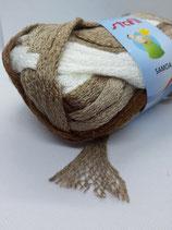 Samoa Wolle braun