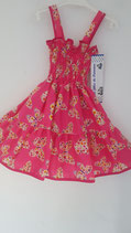 robe pappillon rose