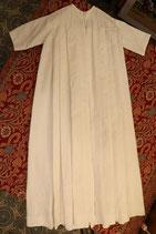 Magnifique manteau de baptême blanc