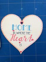 Herz aus Pappelholz