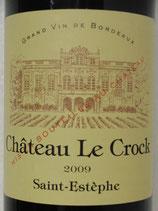 2009 Château Le Crock Saint-Estèphe Cru Bourgeois Exceptionnel AOC