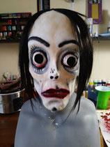 My Ghoul Jackson / Wacko Jacko  Handpainted Mask by Jusmade