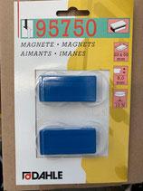 Dahle Magnet 23x50 2Stk. Blau