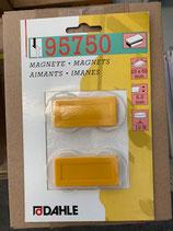 Dahle Magnet 23x50 2Stk. Gelb