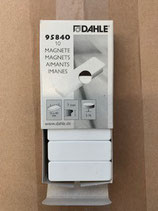 Dahle Magnet 13x40mm Weiss