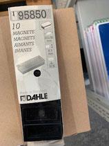 Dahle Magnet 23x50mm Schwarz
