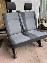 VW T5 Doppelsitzbank Stoff Fahrgastraum