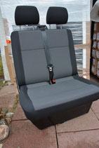 VW T6 / T5 Beifahrerdoppelsitzbank AUSTIN