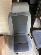 VW T5 Beifahrer-Einzelsitz Stoff TIMO