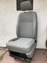 VW T5 Beifahrer-Einzelsitz Stoff PLACE
