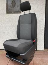 VW T5/T6 Beifahrer-Einzelsitz Stoff AUSTIN