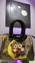 Painted Louis Vuitton Collection | Philip Karto Mickey Mouse Moon
