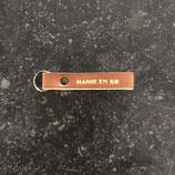 Porte-clés Mamie en Or