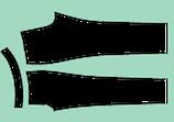 Hosengrundschnitt elastische Hosen