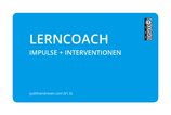 "Kartenset ""Lerncoach (Impulse + Interventionen)"""