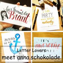 Letter Lovers: anna.schokolade zu Gast