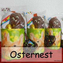 DIY Osternest - ein Upcyclingprojekt aus Büchsen und Servietten