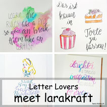Letter Lovers: larakraft zu Gast