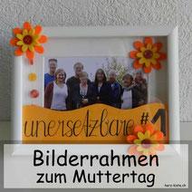 DIY Geschenkidee zum Muttertag: Einen Bilderrahmen mit Handlettering schenken