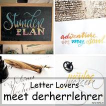 Letter Lovers: derherrlehrer zeigt die Colafeder