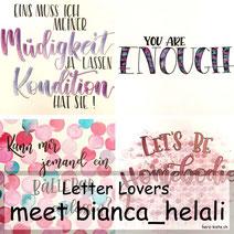 Letter Lovers: bianca_helali zeigt ein Galaxylettering