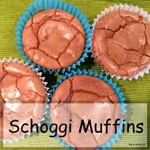Leckere Schoggi Muffins