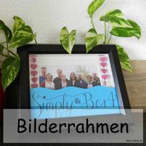 DIY Bilderrahmen mit Handlettring