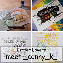 Letter Lovers: _conny_k_ zu Gast