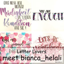 Letter Lovers - meet bianca_helali