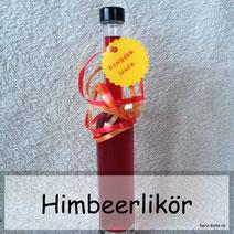 Himbeerlikör selber machen - Rezept