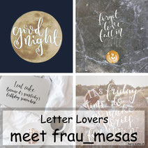Letter Lovers - frau_mesas zu Gast