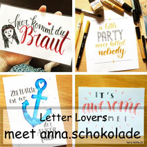Letter Lovers: anna.schokolade zeigt Blümchenkränze