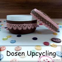 Dosen Upcycling - einfach und schnell verschönert