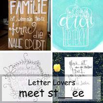 Letter Lovers: st__ee zeigt den Farbmischeffekt mit Wasserfarben