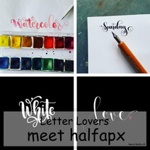 Letter Lovers: halfapx zu Gast