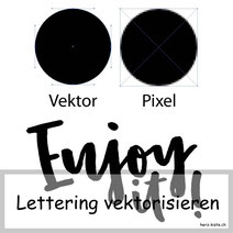 Tutorial: Wie du dein Lettering vektorisieren kannst mit der gratis Software Inkscape