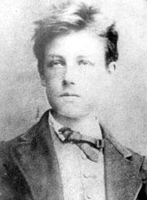アルチュール・ランボー。「早熟の天才」として知られる象徴主義派の詩人。シュルレアリスムに影響を与えた。37歳という若さで死去。